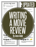 English: Writing A Movie Review Grades 6 - 12