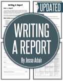 English: Writing A Report Grades 6 - 12