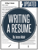 English: Writing A Resume Grades 6 - 12