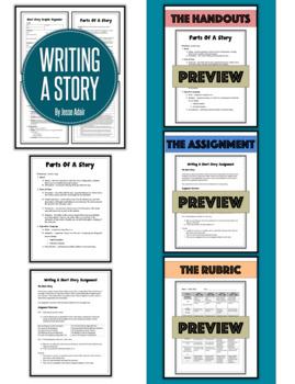 English: Writing A Story Grades 6 - 12
