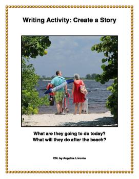English Writing Activity: Create a Story