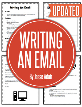 English: Writing An Email Grades 6 - 12