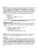 English/Writing Course Syllabus