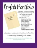 English Writing Portfolio Folder