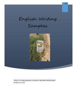 English Writing Samples/Evaluación de escritura en inglés