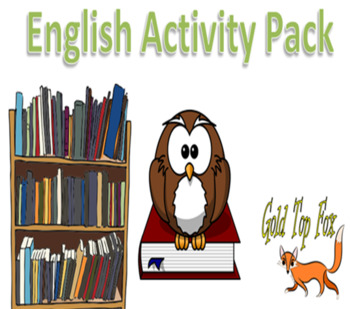 English Book Work Activity Pack