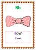 English alphabet booklet