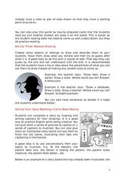 English and Art ESL Lesson Plan