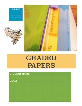 ELA or General Course: Binder & Writer's Notebook Organization