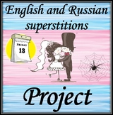English and Russian Superstitions.