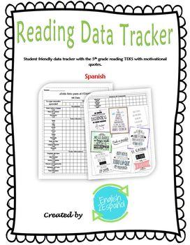 English and Spanish 5th Grade Reading Data Tracker