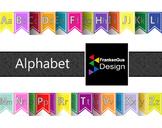 English and Spanish Alphabet