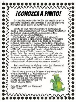 "English+Spanish ""The Classroom Pet"" Tips for Class Management /Mascota del Grupo"