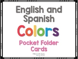 English and Spanish Color Cards