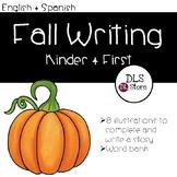 English and Spanish Fall Writing