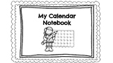 English and Spanish Interactive Calendar Notebook
