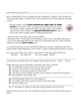 English and Spanish Parent Letters: for volunteering, communication, or meetings