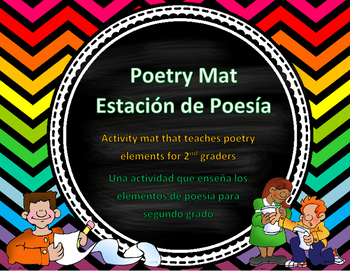 English and Spanish Poetry Mat