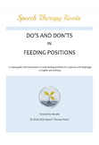 English and isiXhosa Feeding Positions Visual