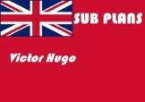 English emergency sub plans Victor Hugo word search reteac