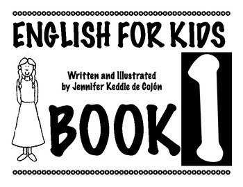 English for Kids Book 1 - Vocabulary practice for primary students