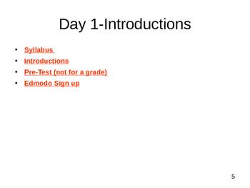 English in 24 days (ESL2 class) Unit 1