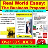 AVID or English in the Real World:  Research and Business