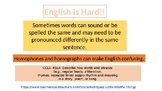 English is Hard