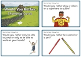 English lesson warm up games
