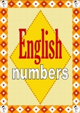 English Numbers Flashcards