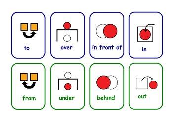 English particles  flashcards for  esol,efl ,sen,etc .20 F
