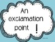English punctuation signs