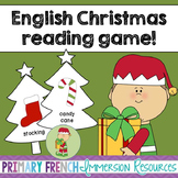 English reading game - The Elf under the Christmas tree