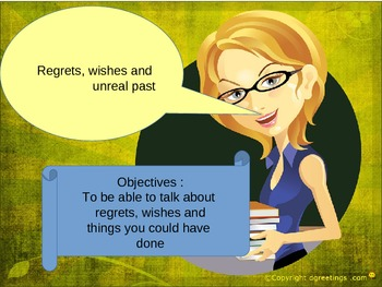 English regrets and wishes for EAL, ESL