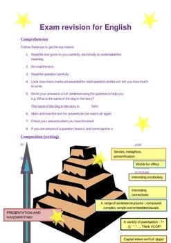 English revision tips