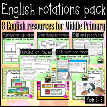 Read, write, punctuate and edit with this English bundle #supportaussiefarmers