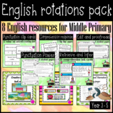 Read, write, punctuate and edit ELA English bundle