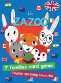 English-speaking countries card game