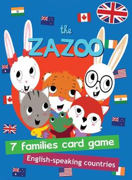 English-speaking countries card game