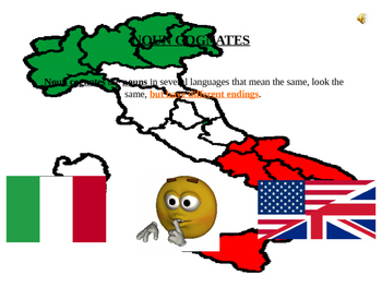 Italian Made Simple: Cognate Codes 103-Nouns