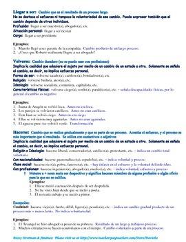 "English ""to become"" vs. Spanish reflexive / ""Se"" reflexivo"