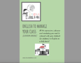 English to manage your class: classroom language