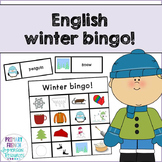 English winter bingo!