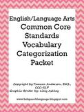 English/Language Arts Common Core Standards Vocabulary Cat
