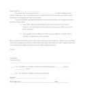 English/Spanish Parent Conference Letter