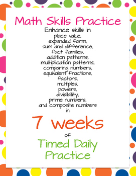Enhance Math Skills in 7 Weeks