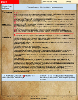 Enhanced DBQ Declaration of Independence Unit (PDF for handouts)