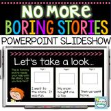 Enhancing Personal Narratives  1st Grade & 2nd Grade