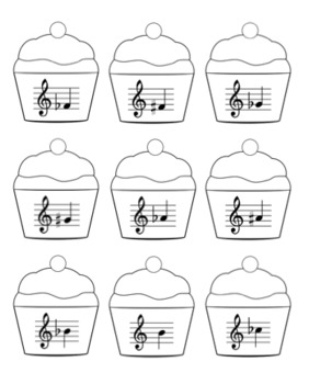 Enharmonic Equivalents Board Game - Cupcake Delivery