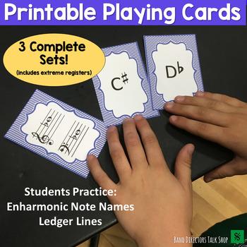 "Enharmonics Match (A ""Find a Partner"" Game) - 3 sets!"